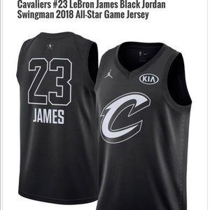 Nike Lebron James Kia All Star Black jersey